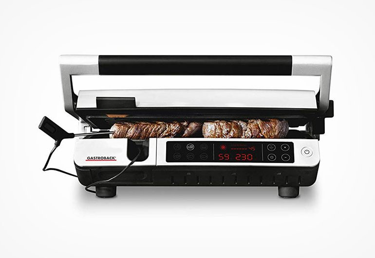 Gastroback 42539 Kontaktgrill mit Grill-Thermometer